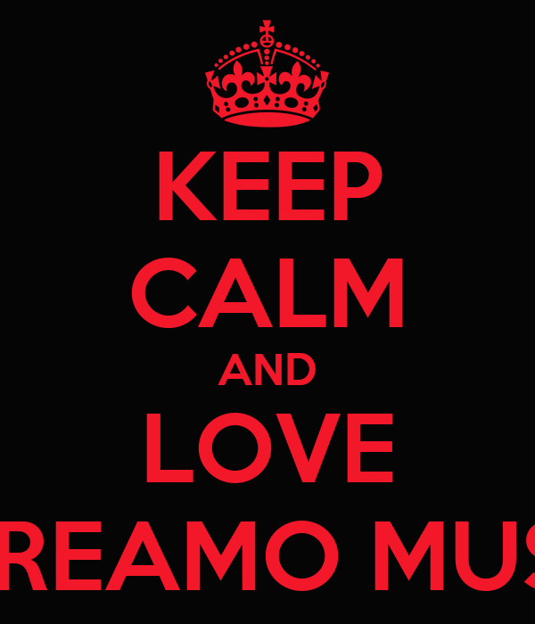 KEEP CALM AND LOVE SCREAMO MUSIC