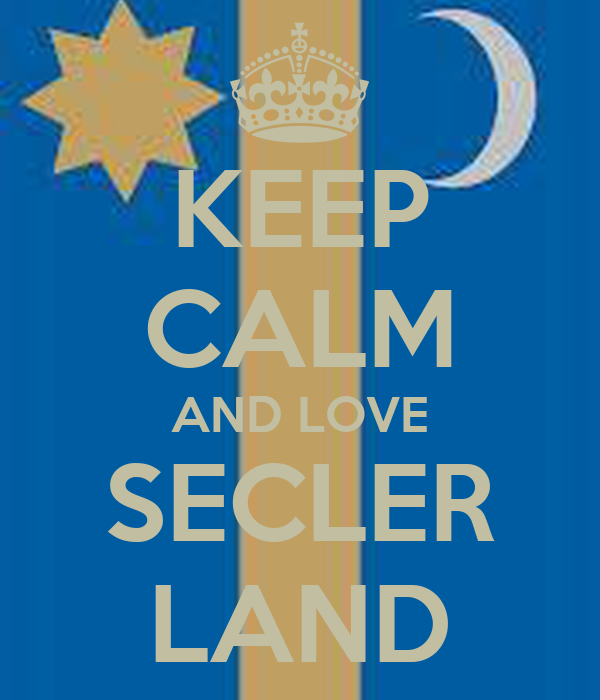 KEEP CALM AND LOVE SECLER LAND