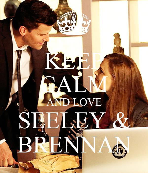 KEEP CALM AND LOVE SEELEY & BRENNAN