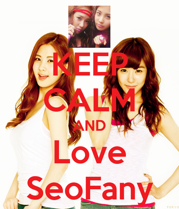 KEEP CALM AND Love SeoFany