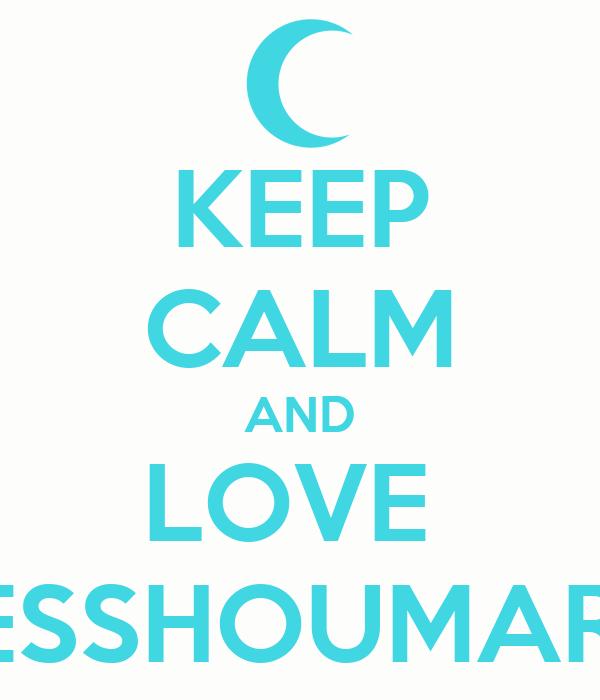 KEEP CALM AND LOVE  SESSHOUMARU