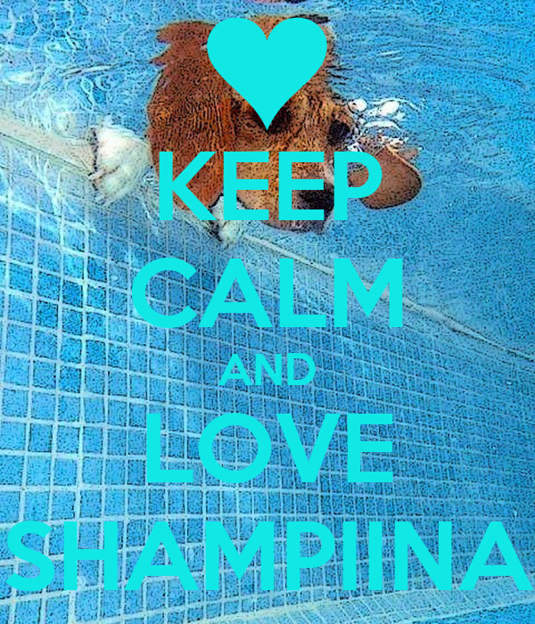 KEEP CALM AND LOVE SHAMPIINA