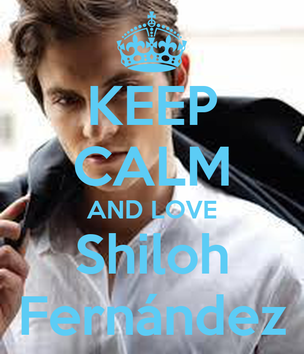 KEEP CALM AND LOVE Shiloh Fernández