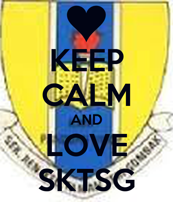 KEEP CALM AND LOVE SKTSG