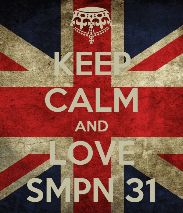 KEEP CALM AND LOVE SMPN 31