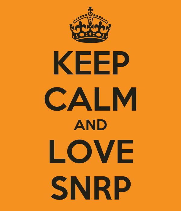 KEEP CALM AND LOVE SNRP