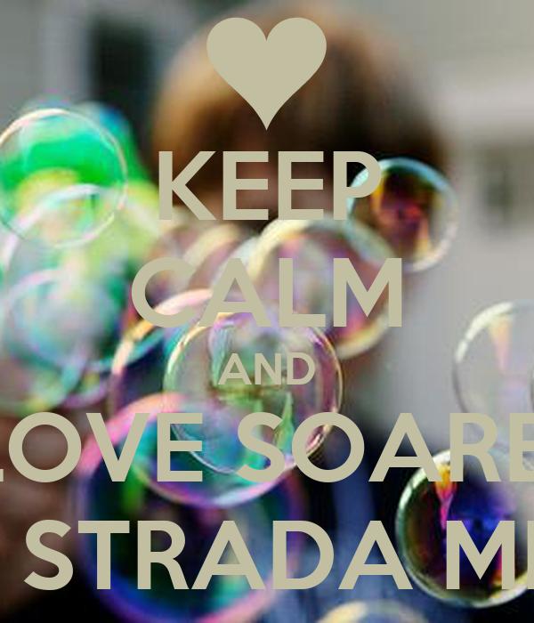 KEEP CALM AND LOVE SOARE  PE STRADA MEA