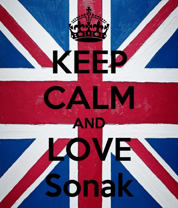 KEEP CALM AND LOVE Sonak