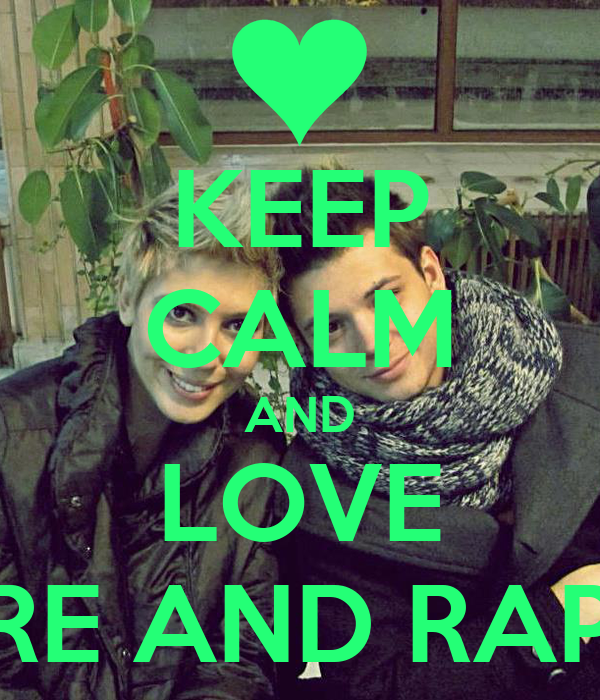 KEEP CALM AND LOVE SORE AND RAPHA