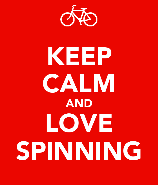KEEP CALM AND LOVE SPINNING