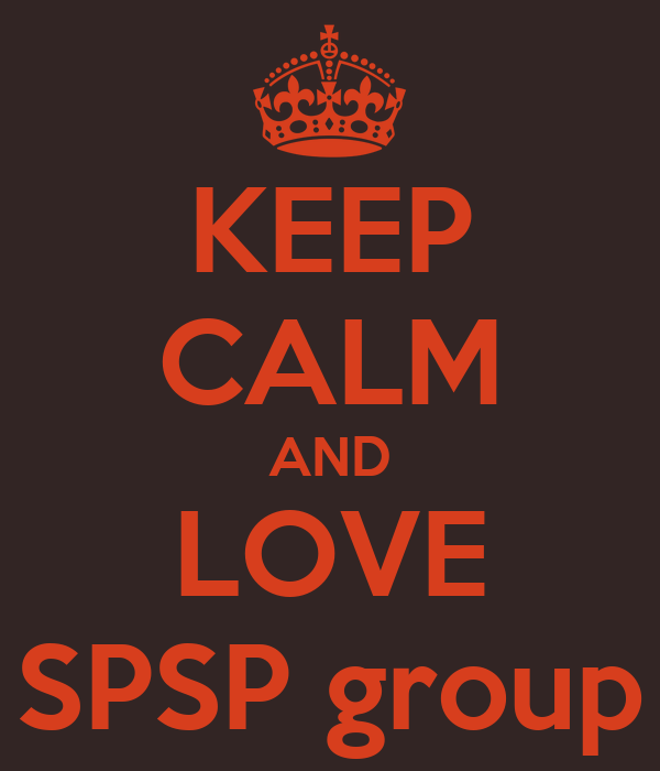 KEEP CALM AND LOVE SPSP group