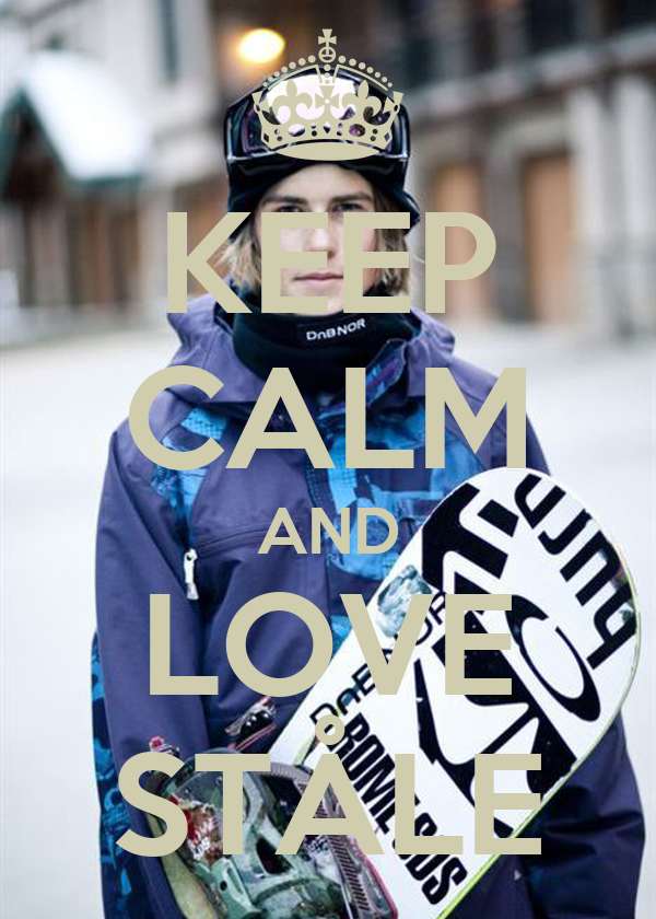 KEEP CALM AND LOVE STÅLE