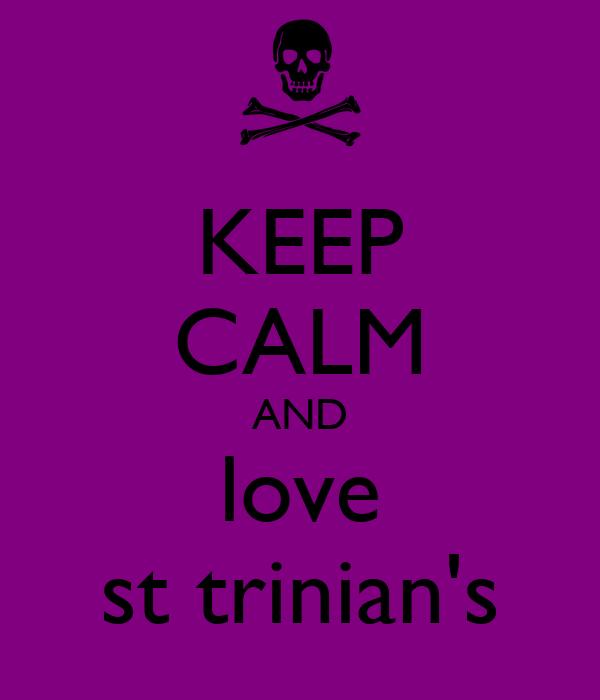 KEEP CALM AND love st trinian's