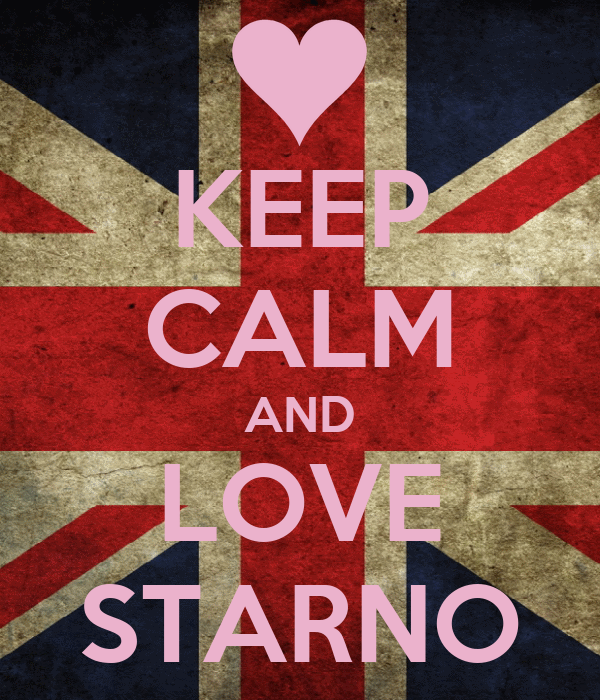 KEEP CALM AND LOVE STARNO