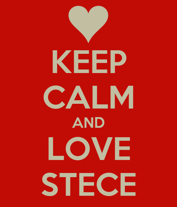 KEEP CALM AND LOVE STECE