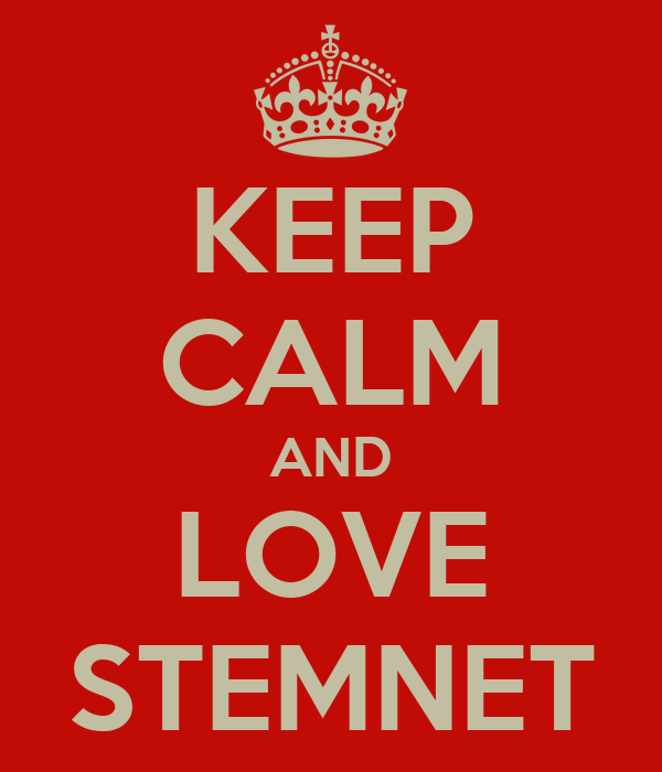 KEEP CALM AND LOVE STEMNET