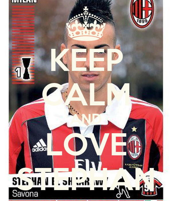 KEEP CALM AND LOVE STEPHAN