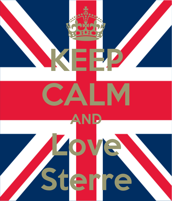 KEEP CALM AND Love Sterre