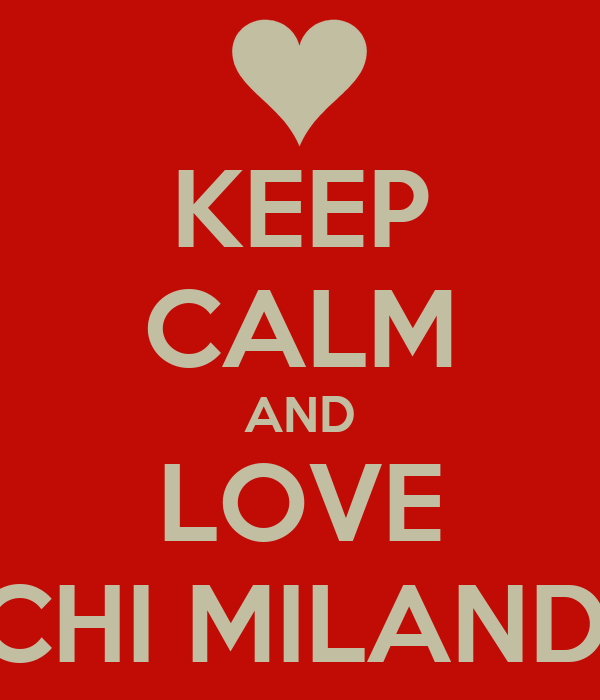 KEEP CALM AND LOVE SUCHI MILANDHA