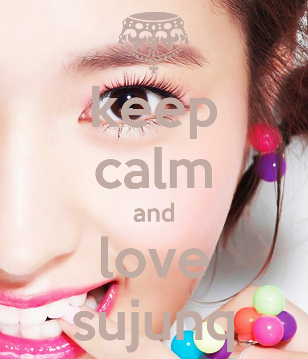 keep calm and love sujunq