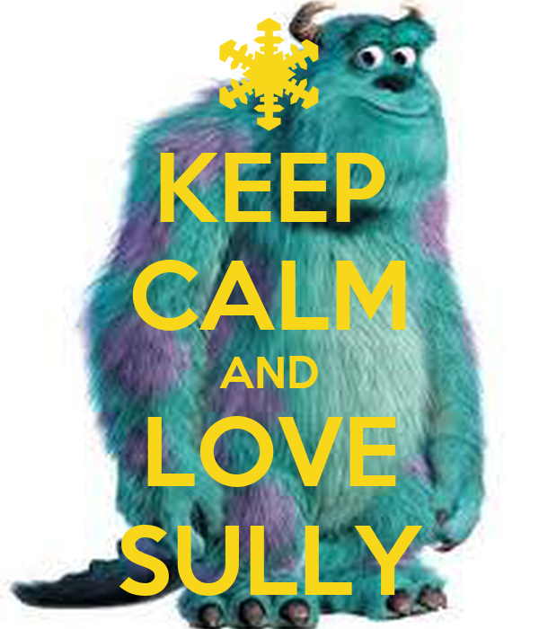 KEEP CALM AND LOVE SULLY