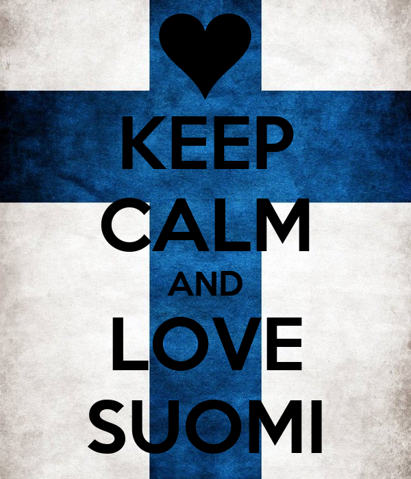 KEEP CALM AND LOVE SUOMI