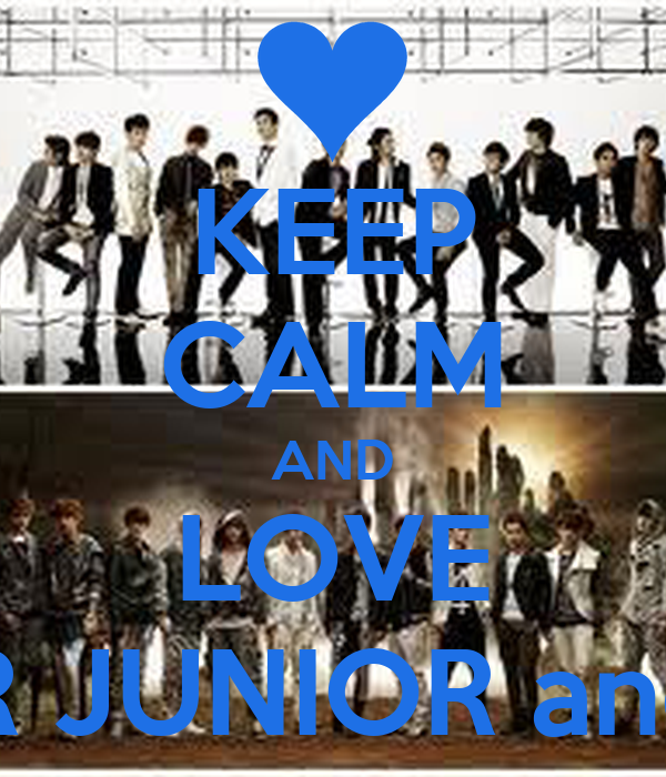 KEEP CALM AND LOVE SUPER JUNIOR and EXO