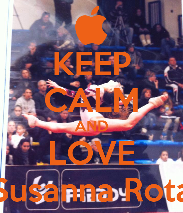 KEEP CALM AND LOVE Susanna Rota