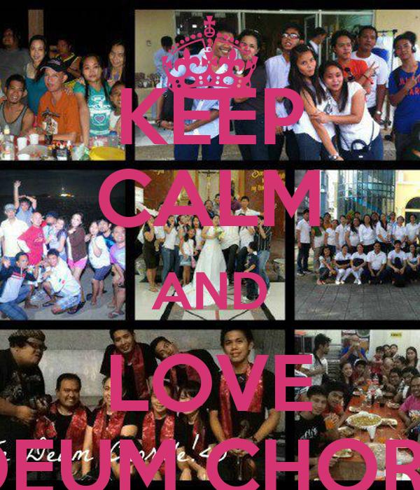 KEEP CALM AND LOVE TE DEUM CHORALE