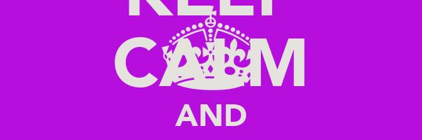 KEEP CALM AND LOVE THE BIEBS