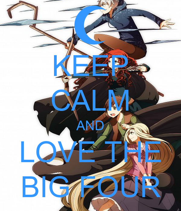 KEEP CALM AND LOVE THE BIG FOUR