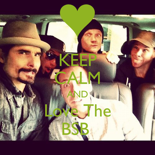 KEEP CALM AND Love The BSB