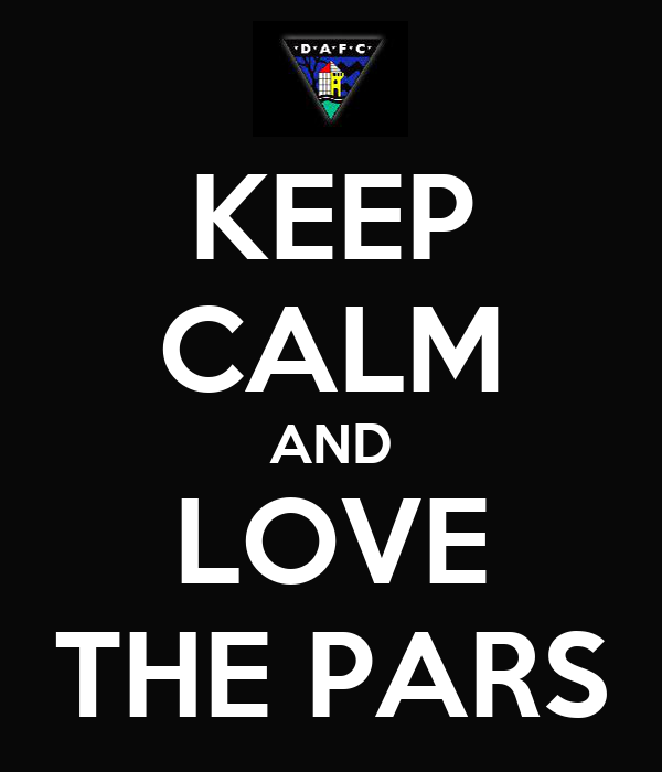 KEEP CALM AND LOVE THE PARS