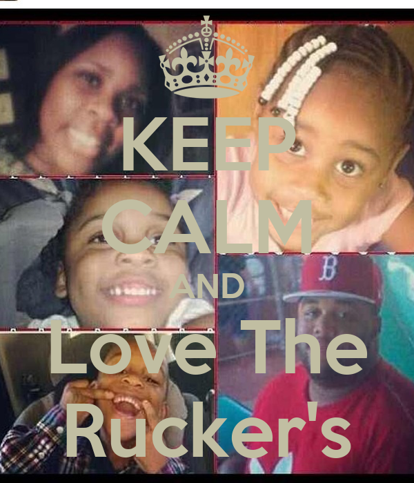KEEP CALM AND Love The Rucker's