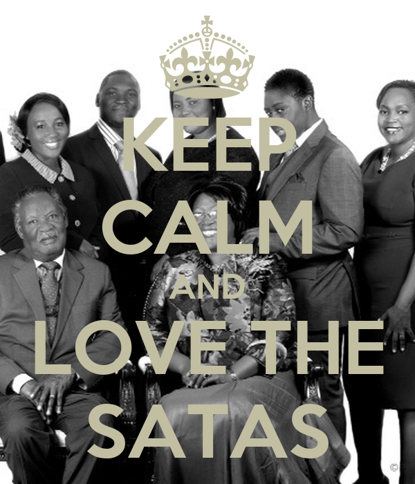 KEEP CALM AND LOVE THE SATAS