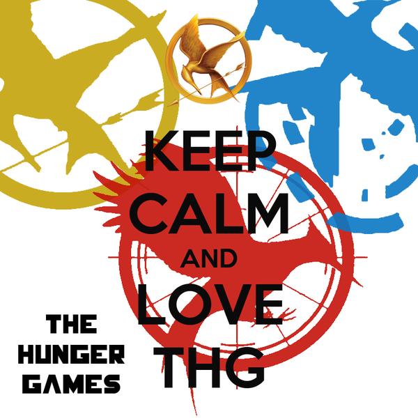 KEEP CALM AND LOVE THG
