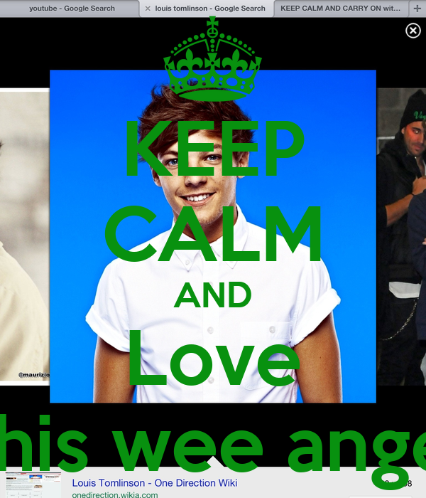 KEEP CALM AND Love This wee angel