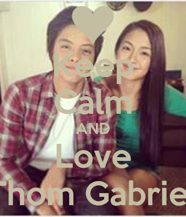 Keep Calm AND Love Thom Gabriel