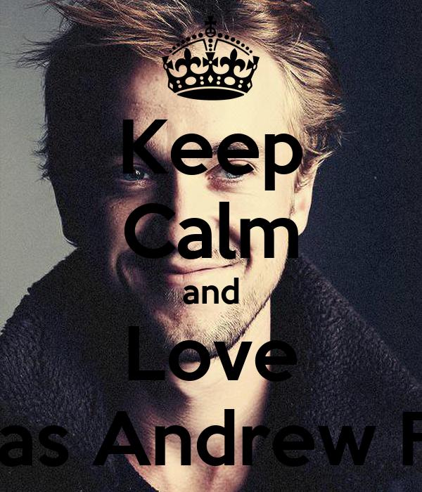 Keep Calm and Love Thomas Andrew Felton