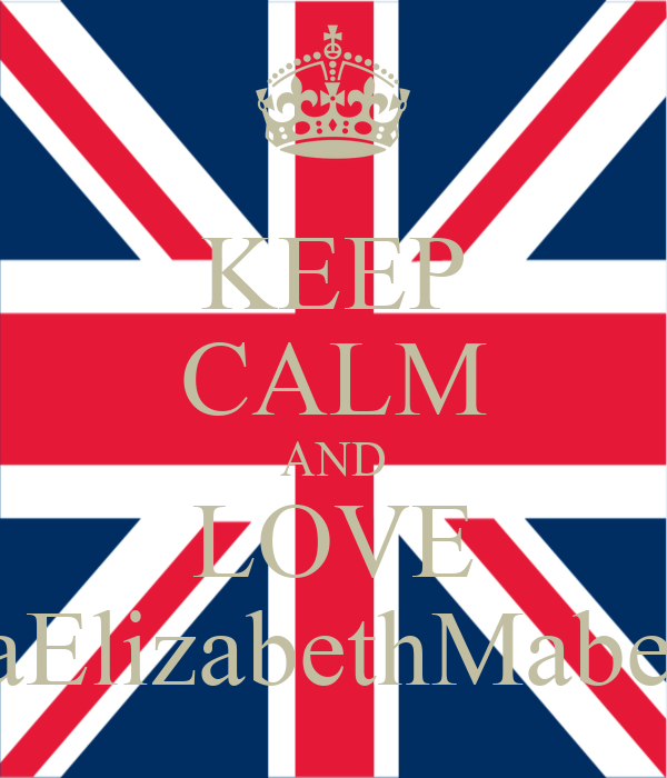 KEEP CALM AND LOVE TiaElizabethMabe<3