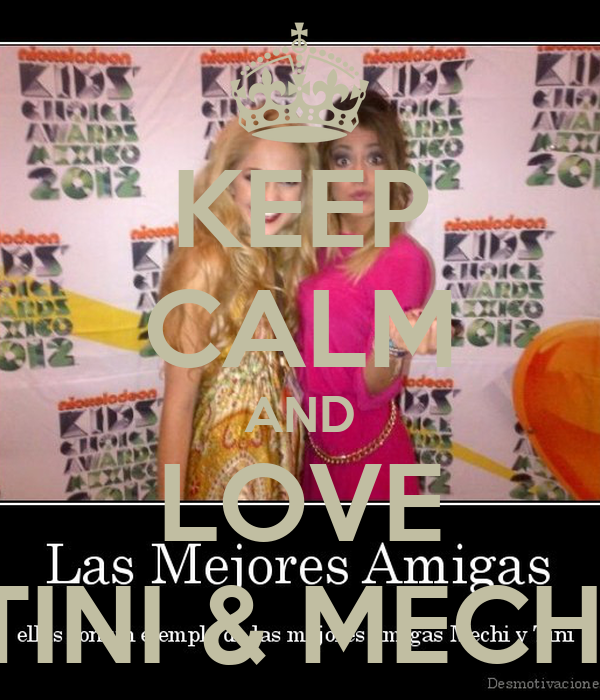 KEEP CALM AND LOVE TINI & MECHI