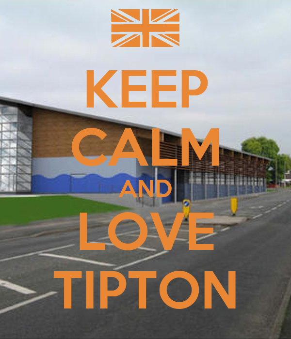 KEEP CALM AND LOVE TIPTON