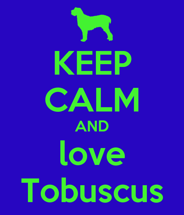 KEEP CALM AND love Tobuscus