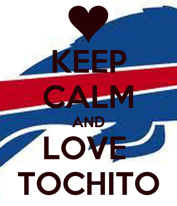 KEEP CALM AND LOVE  TOCHITO