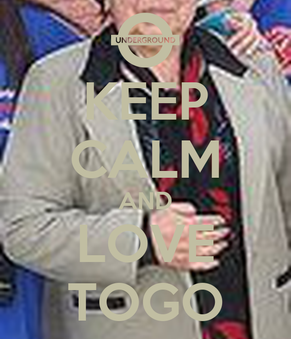 KEEP CALM AND LOVE TOGO