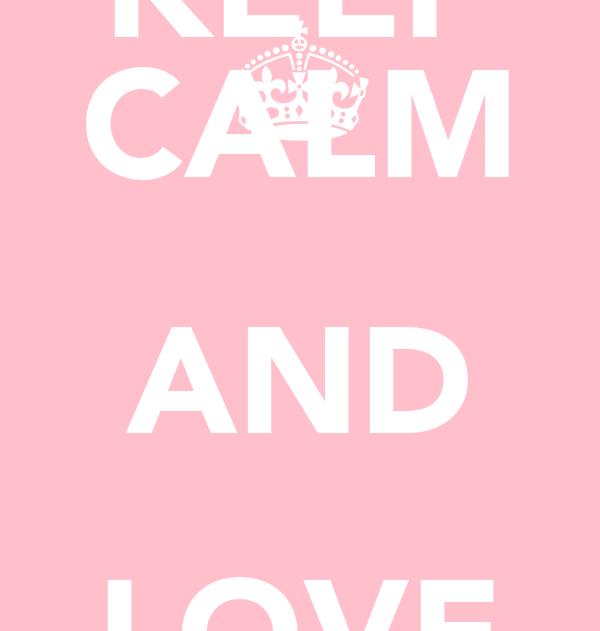 KEEP CALM AND LOVE TOM FELTON