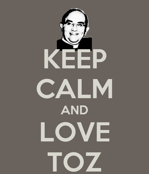 KEEP CALM AND LOVE TOZ