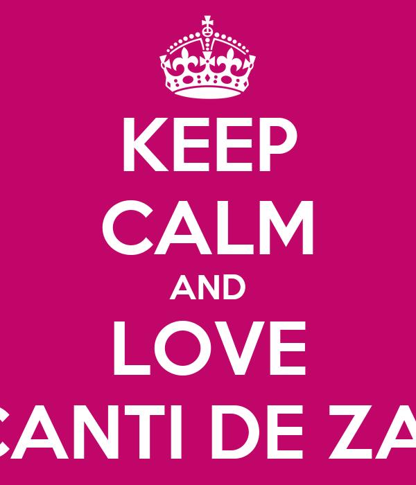 KEEP CALM AND LOVE TRAFICANTI DE ZAMBETE