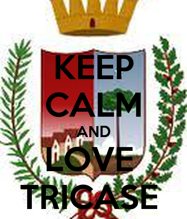 KEEP CALM AND LOVE  TRICASE