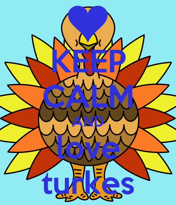 KEEP CALM AND love turkes